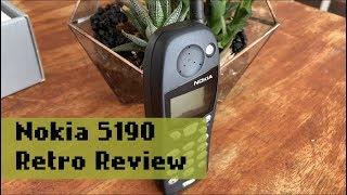 Nokia 5190 (5110) Retro Review