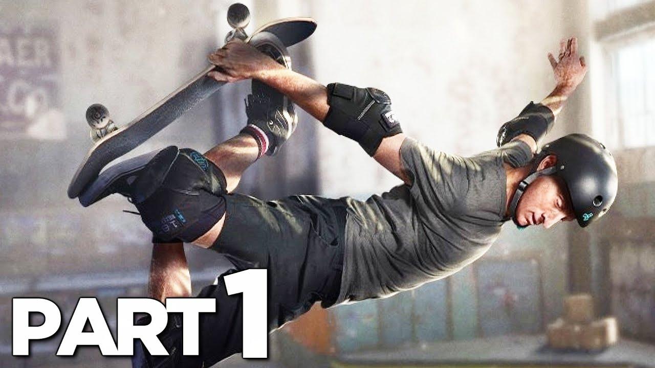 TONY HAWK PRO SKATER 1+2 Walkthrough Gameplay Part 1 - SCHOOL (THPS 2020)