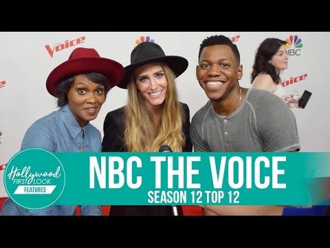 The Voice S12 TOP 12: Aliyah Moulden, Lauren Duski, Troy Ramsey, Hunter Plake & more