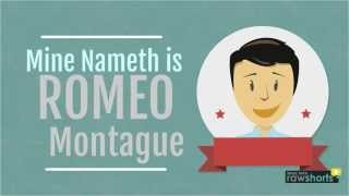 Romeo Montague video-Lebenslauf curriculum vitae cv Romeo und Julia
