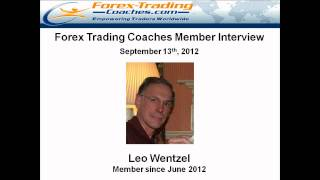Forex Trading Interview with Leo 2 month MACD 3 member full-time trader