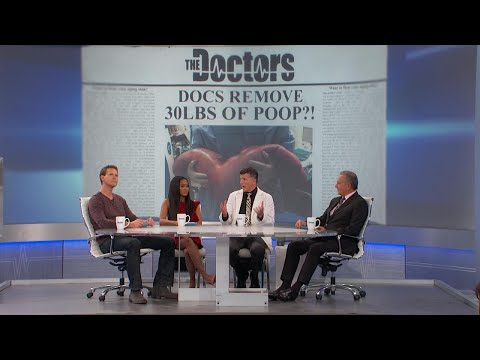 Doctors Removed 30 Pounds of Poop?!