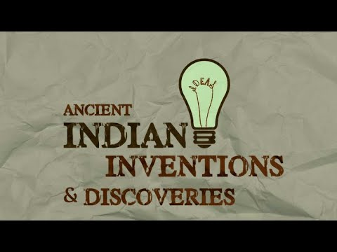 Scientific and medicinal discoveries by indians