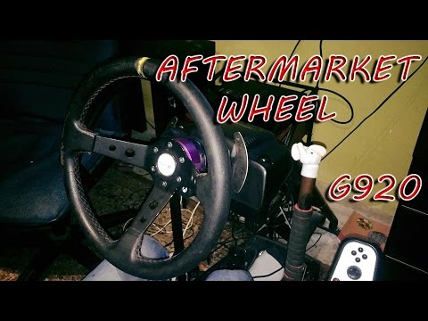 Logitech G920 Aftermarket Wheel DIY (ARABIC) (English Subs)