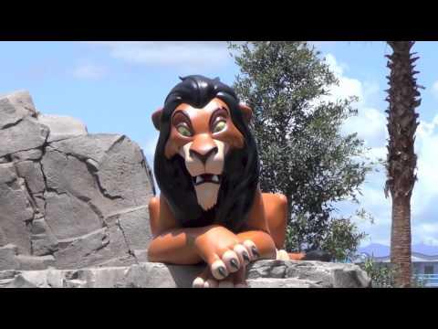Lion King wing at Disney's Art of Animation Resort - Plus Little Mermaid peek