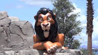 Lion King wing at Disney's Art of Animation Resort - Plus Little Mermaid peek