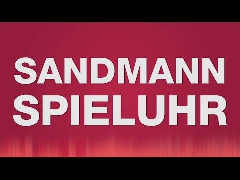 Sandmann Spieluhr SOUND EFFECT - Sandmann Melodie Baby Spieluhr Einschlafhilfe für Baby Kind