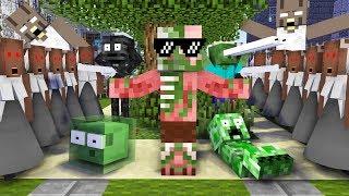 Monster School : GRANNY APOCALYPSE CHALLENGE - Minecraft Animation