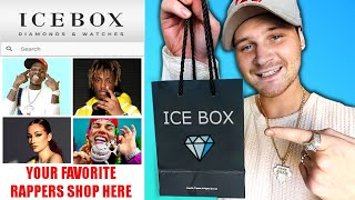 Buying My FIRST RAPPER JEWELRY From ICEBOX!! (YOUR FAVORITE RAPPERS SHOP HERE!)