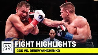 HIGHLIGHTS | GGG vs. Sergiy Derevyanchenko