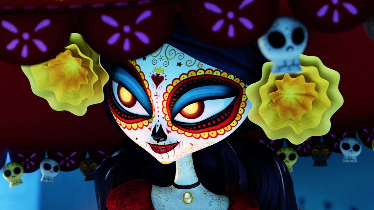 The book of life trailer 2014 channing tatum zoe saldana for Book of life characters names