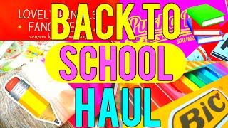 Back to School Supplies Haul // B2S HAUL 2016 W/ Life Of A Geek Teen
