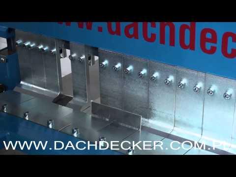 Сегментный листогиб Decker SUW-2150 с 3 сегментными балками