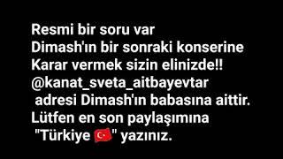 Dimash'ın Türkiye'de konser vermesini isteyenler için önemli