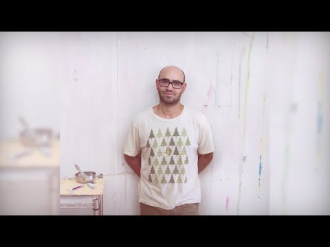 AS Antonio Montalvo, a young rising talent of painting using intuition as artistic technique