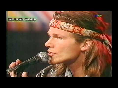 A - ha , Show ,1991 , I Call Your Name , TRIBUTE to MARCELO TINELLI , MORTEN HARKET LIVE