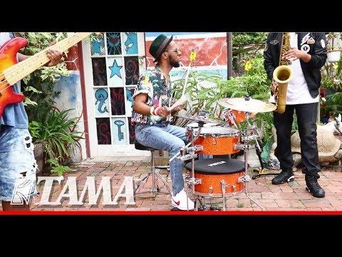 TAMA Cocktail-JAM -Compact & Portable- kit w/ TreWay Lambert