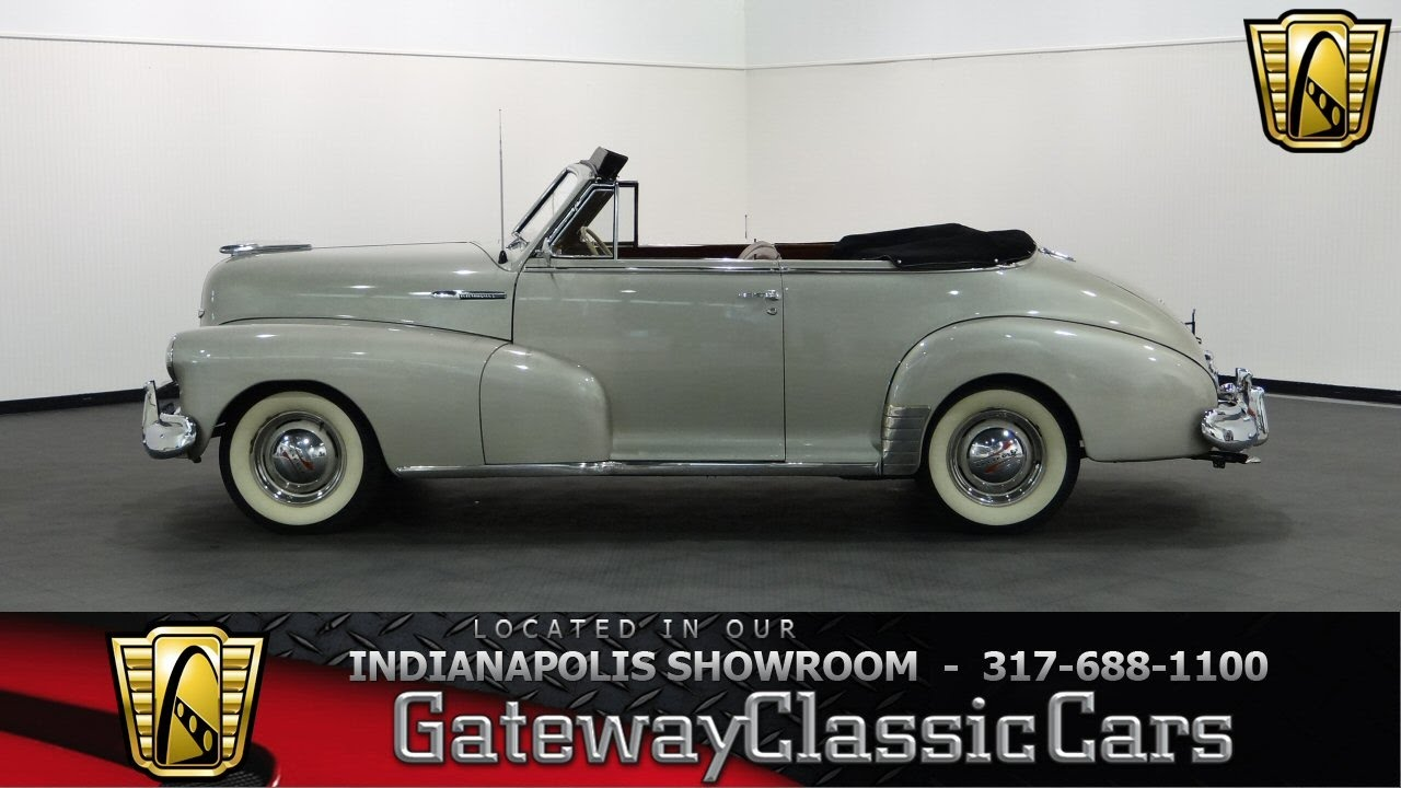 1948 Chevrolet Convertible - Gateway Classic Cars Indianapolis - #714 NDY
