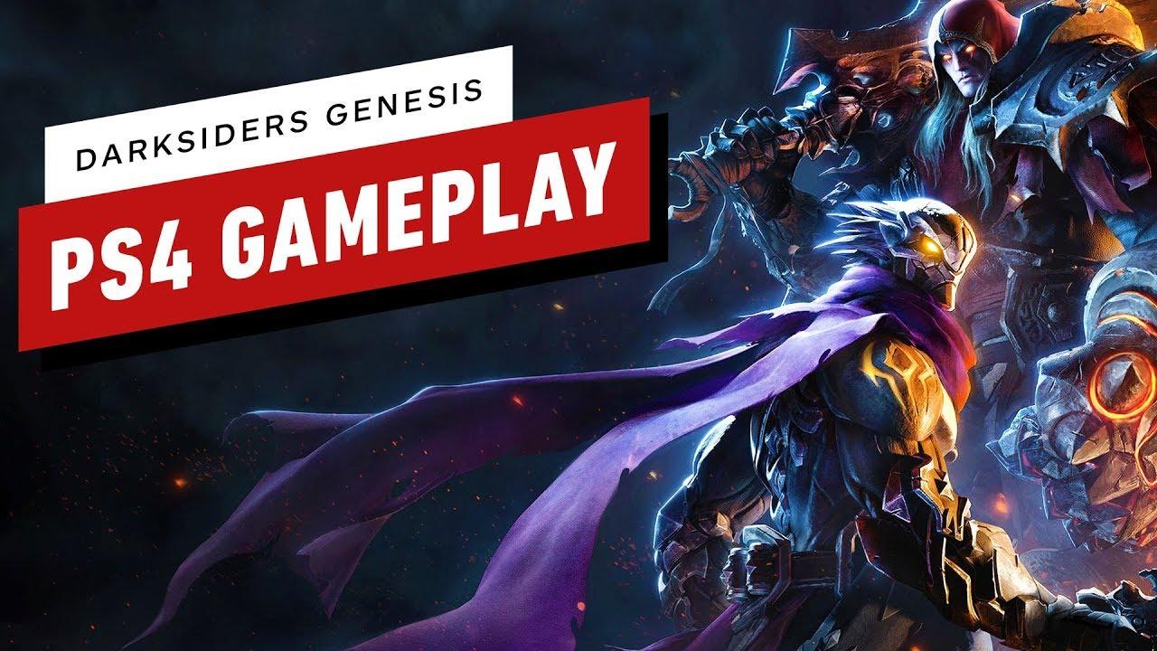 Darksiders Genesis: 13 minutes de gameplay sur PS4 + vidéo