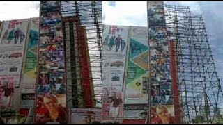 For the first in Tirunelveli 120 feet Cut out for Thala Ajith    Vedalam
