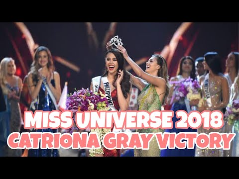 Miss Universe 2018 Catriona Gray's Victory reaction by ParoDivas