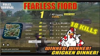 CHICKEN DINNER *NEW MAP*   RULES OF SURVIVAL   RULES OF SURVIVAL PH   SEMI RAW FOOTAGES