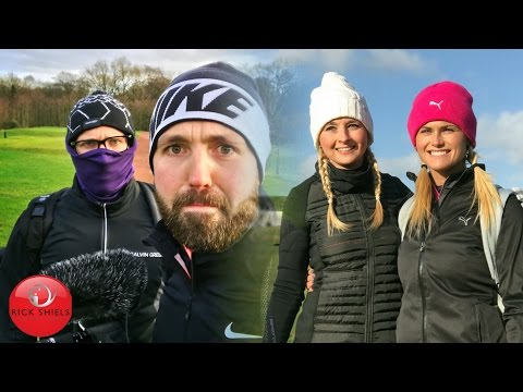 BEARDS, BLONDES & BIRDIES + HURRICANE BARBARA! COURSE VLOG PART 1