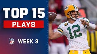 Top 15 Plays of Week 3 | NFL 2021 Highlights