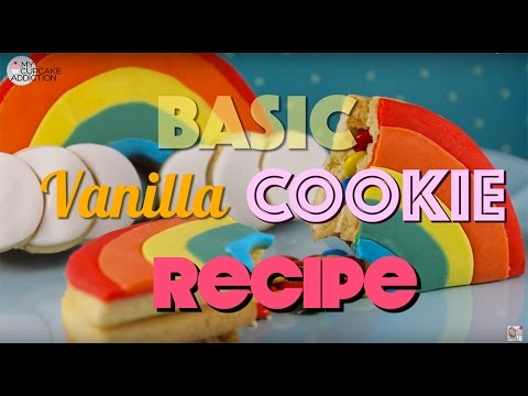 The BEST Vanilla Sugar Cookie Recipe - Stretch Free, Swell Free & PERFECT For Decorating