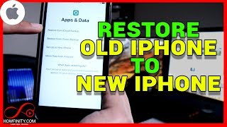 How to Backup Your Old iPhone and Restore To New iPhone