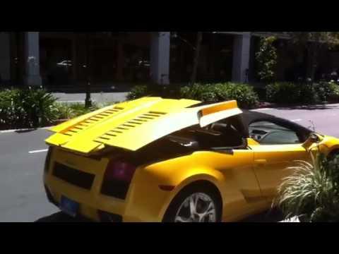 Lamborghini convertible