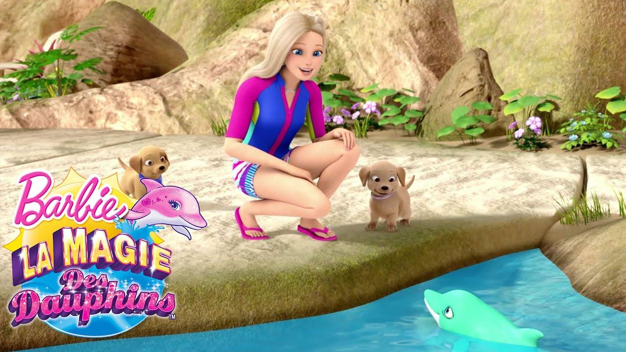 Le dauphin pierre pr cieuse barbie la magie des dauphins barbie france youtube - Barbie et le secret des sirenes 1 ...