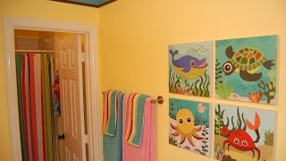 KIDS BATHROOM DECOR~DECORATIONS FOR LIVING ROOM IDEAS