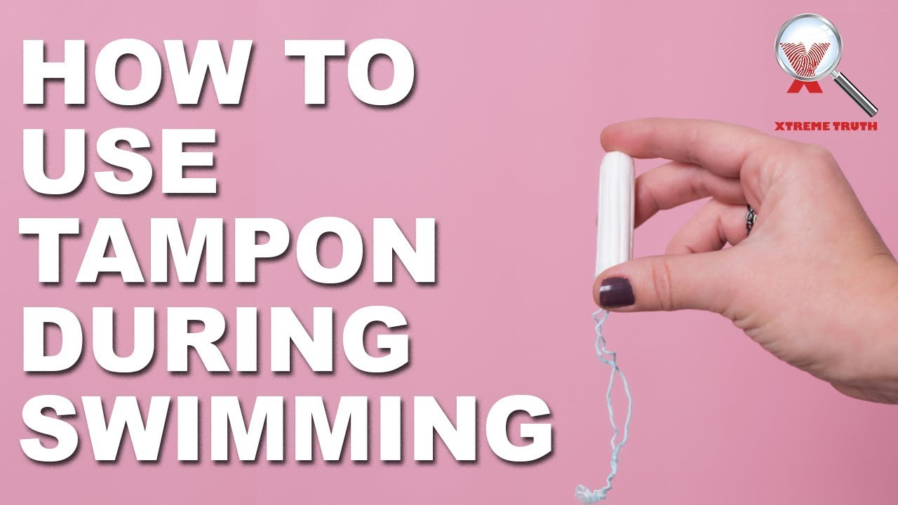 How to Use a Tampon While Swimming