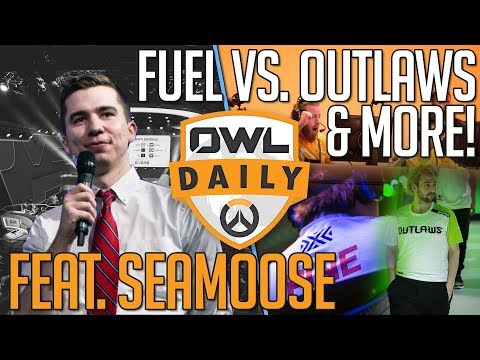 """1-19-18 - """"Fuel vs. Outlaws & More feat. Seamoose"""" - Overwatch League Daily"""