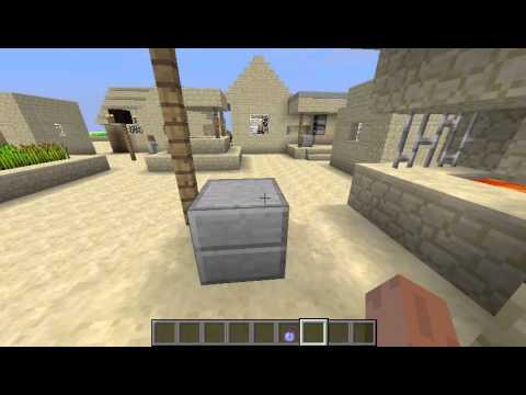 Minecraft Superflat Desert Village Desert Temple Seed With Oak