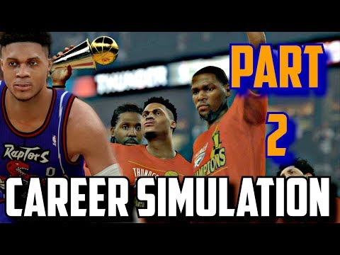 SIMULATING RUSSELL WESTBROOK'S NBA CAREER IN NBA2K17!!(2008-2027) PART 2!!!