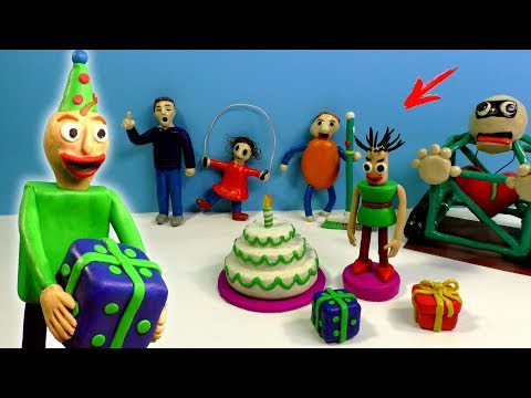 ЛЕПИМ БАЛДИ из игры Baldi's Basics Birthday Bash