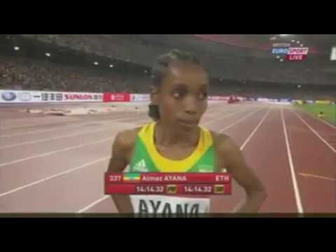 Women's 5000M  WC 2015   Ayana VS Dibaba Full Race