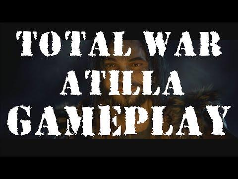 Total War: ATTILA - PC GAMEPLAY [EGX 2014]