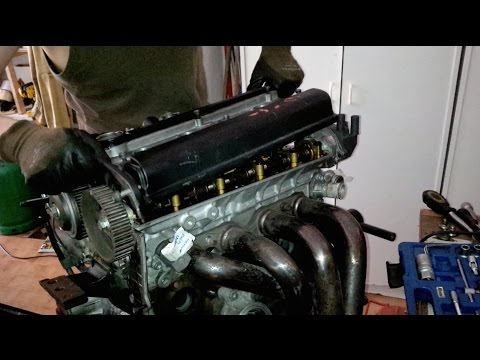 ᴴᴰ(Part 3) Toyota 4AGE 20 valve black top engine rebuild: Engine Head (1/2)