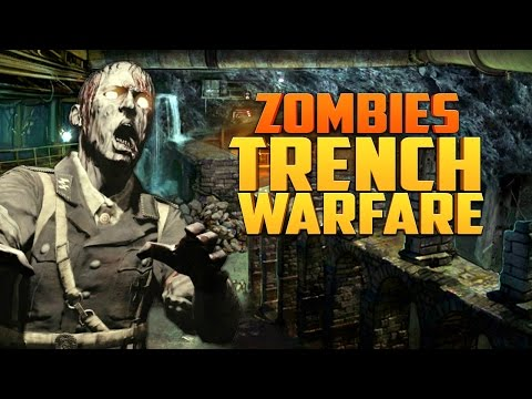 ZOMBIE TRENCH WARFARE (Part 2) ★ Call of Duty Zombies (Zombie Games)