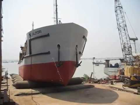 Water Supply Vessel's Launching