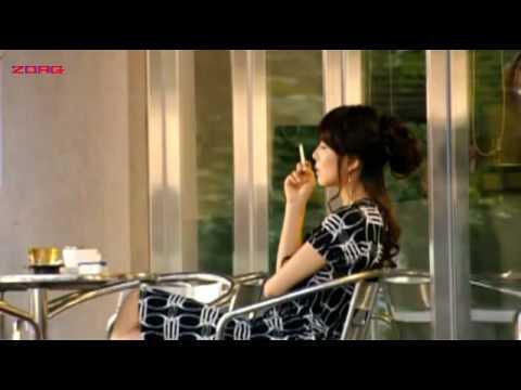 Jin Seoyeon smoking in Temptation of Eve: Good Wife 1