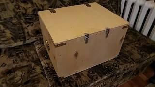 видео Фанерные ящики