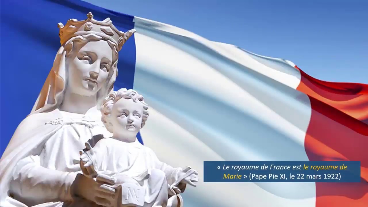 """Présentation du livre """"Marie et la France : un lien extraordinaire à redécouvrir"""""""