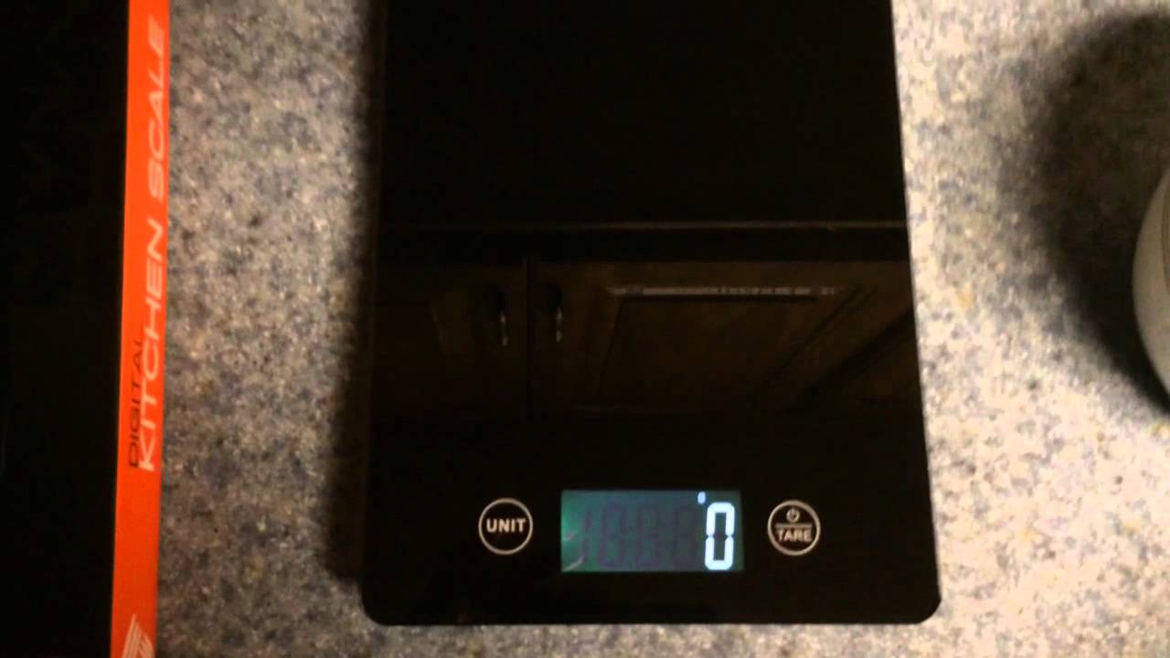 rbx digital kitchen scale review - youtube