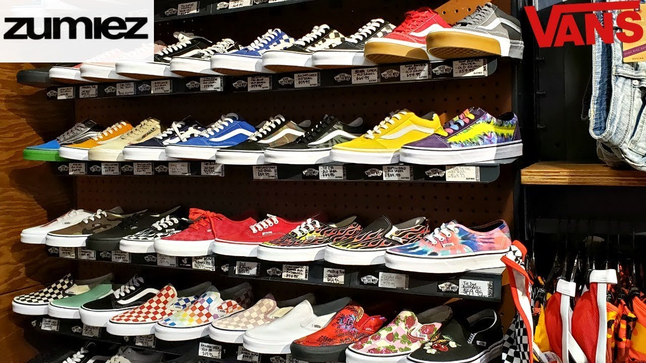 who sells vans shoes
