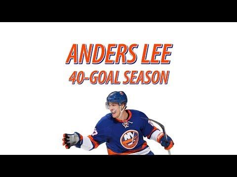 Anders Lee All 40 Goals Scored (New York Islanders 2017-18)