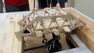 Balsa Wood Bridge Break